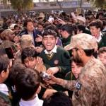 Imran Khan not so welcome in APS Peshawar