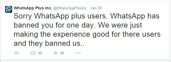 "<img src=""http://www.thenextrex.com/wp-content/uploads/2015/01/whatsApp-plus-twitted-confirming-their-users-were-banned-by-whatsApp.jpg"" alt=""whatsApp plus twitted confirming their users were banned by WhatsApp"">"