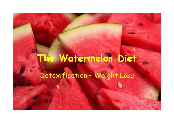 watermelon reduce weight
