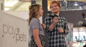 "<img src=""Image URL"" alt=""ED Sheeran with Sydney Bourbeau"">"