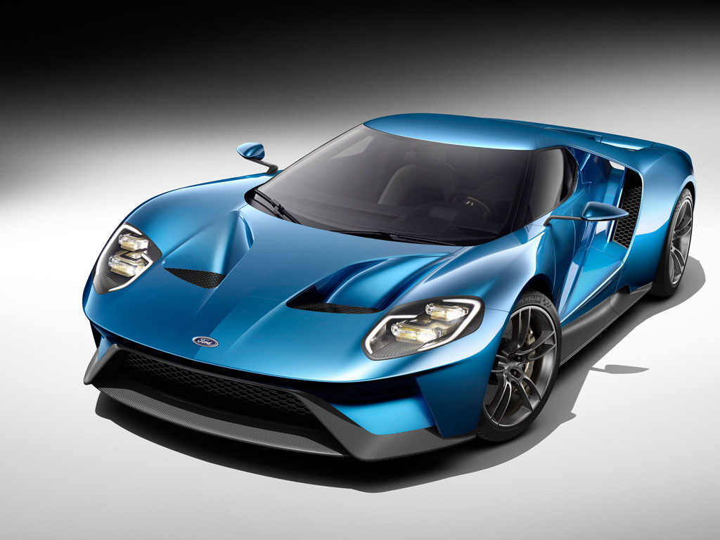 Ford Redefines its innovation in GT Carbon Fiber SuperCar