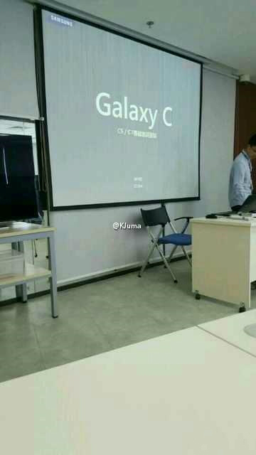 Galaxy C, Galaxy C series