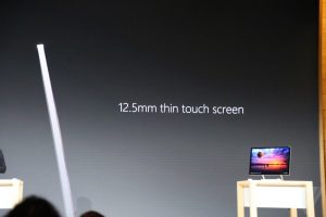 12.5mm thin touch screen