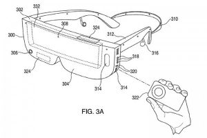 Apple patent exposure VR headset display device