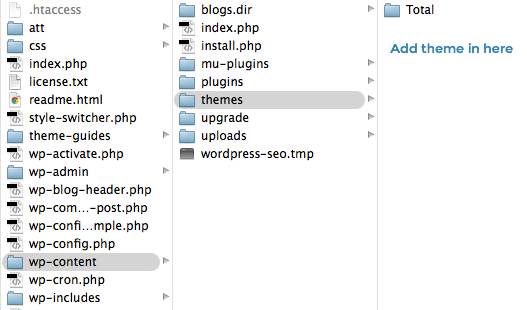 Installing WordPress theme using FTP- Step by Step guide