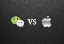 in-app tipping apple wechat