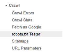 how to fix blocked by robots txt
