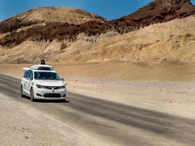 waymo road test