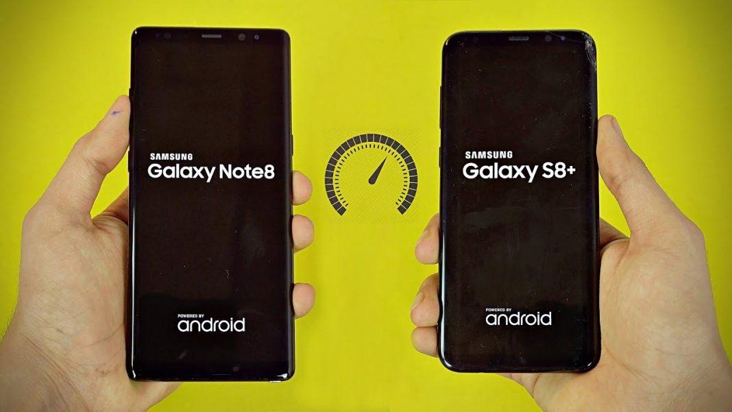 Samsung Galaxy Note 8 VS Galaxy S8 Plus