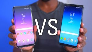 Samsung Galaxy Note 8 VS Galaxy S Plus comparision