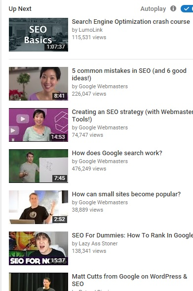On-Page SEO Practice A Blogger Should Adopt - Related Video