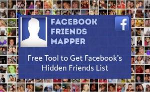 Facebook Friends Mapper