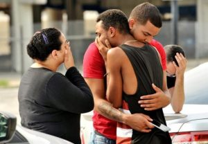 Orlando - Worst Mass Shooting in Night Club - Black Day in US History - crying injurd people