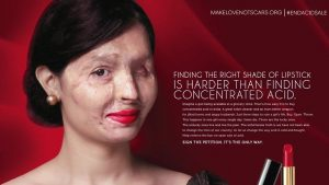 Acid attack victim reshma