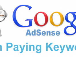 most high payable keywords on google adsense