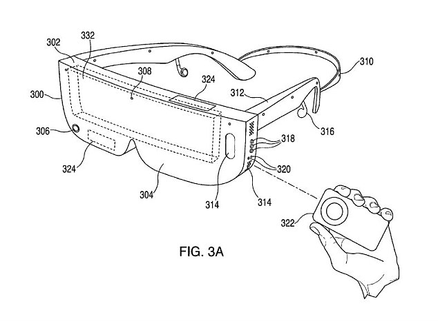 Apple patent exposure VR headset
