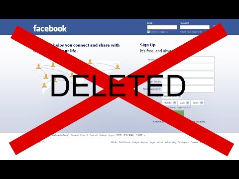 how to deactivate Facebook account quickly. Here are some steps to delete Facebook accounts easily
