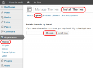 Installing WordPress theme using dashboard- Step by Step guide
