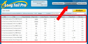 competitor analysis - Keyword research with Long Tail Pro - Step by step guide
