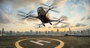 dubai driverless air taxi