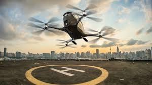 dubai driverless air taxi