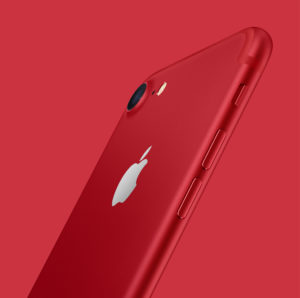 limited edition red iPhone