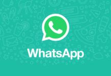 WhatsApp text status
