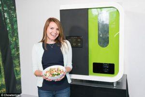 Salad making Robot Sally