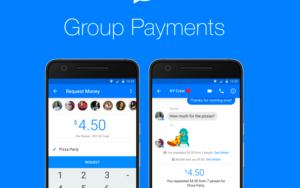 group payments via facebook messenger