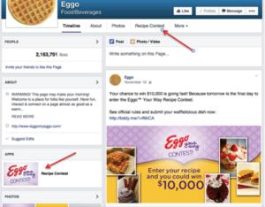 facebook marketing contest
