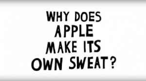apple artificial sweat