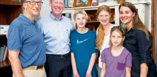 apple free bill gates family
