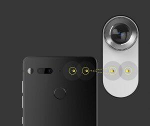 essential phone camera