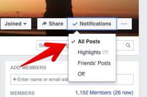 active facebook group