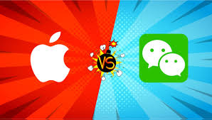 apple vs wechat