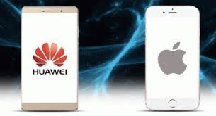apple vs huawei
