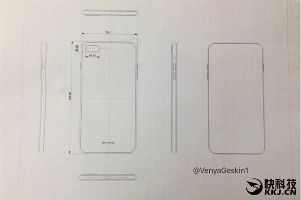 iPhone 8 design leaks