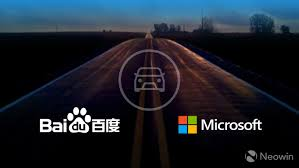 microsoft and baidu