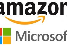 amazon and microsoft