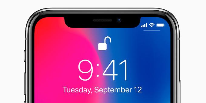 iphone x face data
