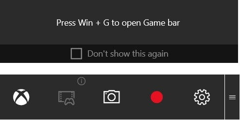 windows game bar