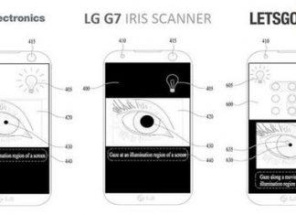 lg g7 iris recognition