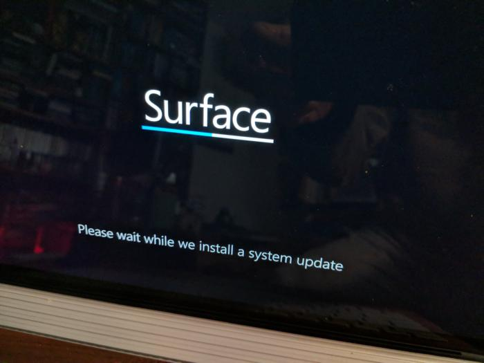 Surfacebook performance decline