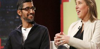 Google and YouTube CEOs