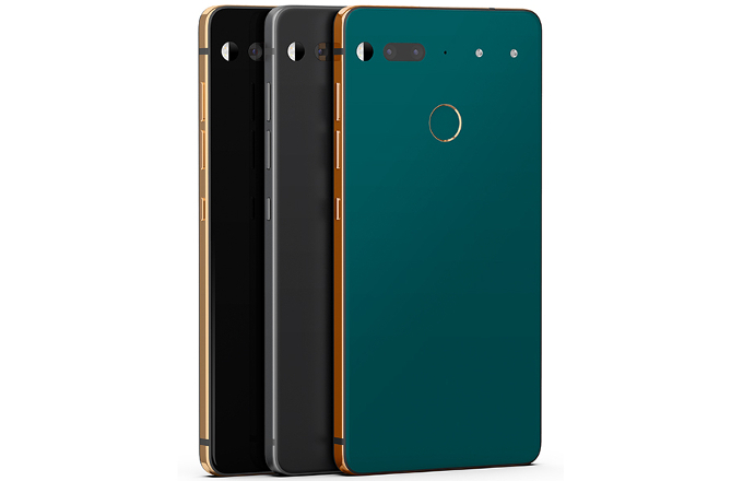 Limited color editions Essential Phone are being released today across the markets colors include copper black, Stellar gray and ocean depths