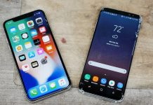 iphone x vs galaxy s8