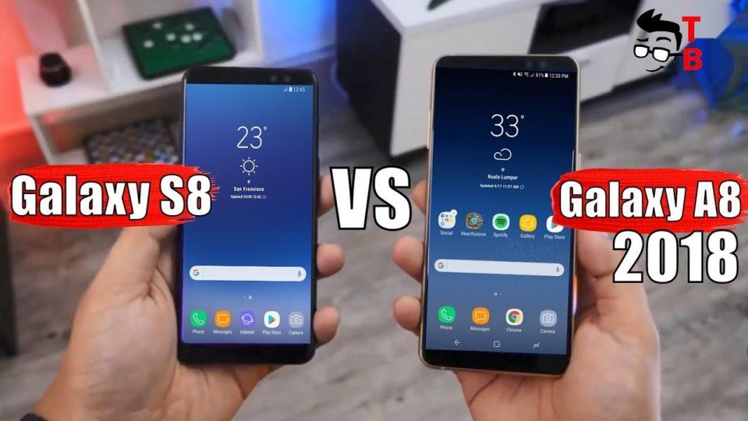 galaxy a8 vs galaxy s8