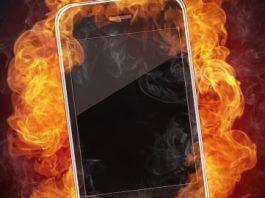 smartphone heats up
