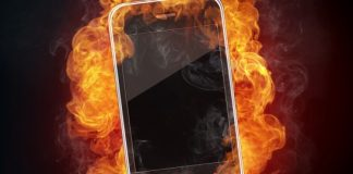 smartphone heats up