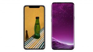 galaxy s9 vs iphone x